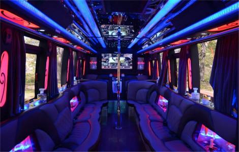 Denton TX party bus