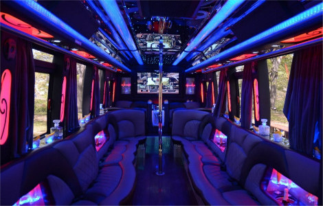 Denton TX party bus