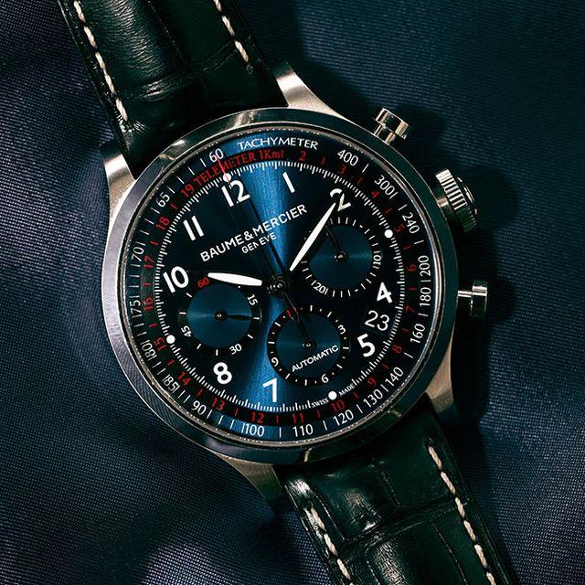 Baume Mercier capeland chronograph review